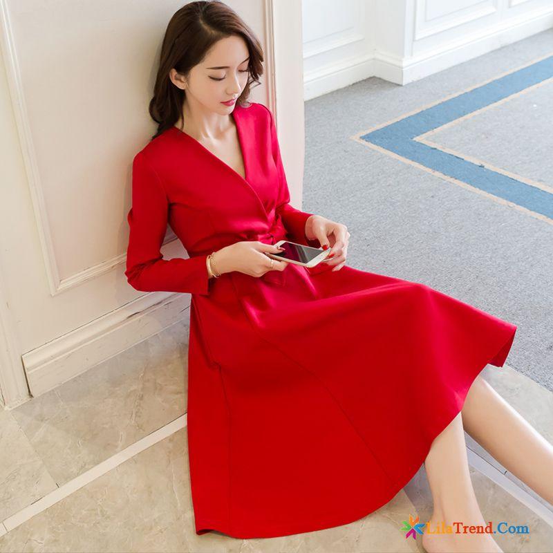 Kleid mit lange armel