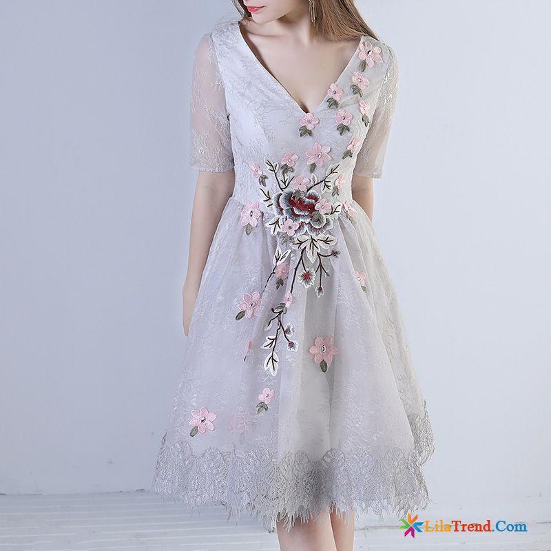 Mode Kleider Festlich Dunkel Damen Hochzeitskleid ...