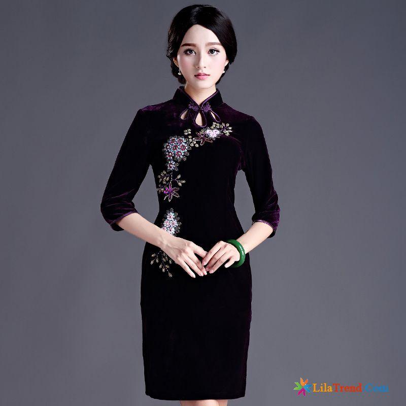 finest selection 53076 ea780 Onlineshop Kleidung Damen Mode Hochzeit Hülse Cheongsam ...