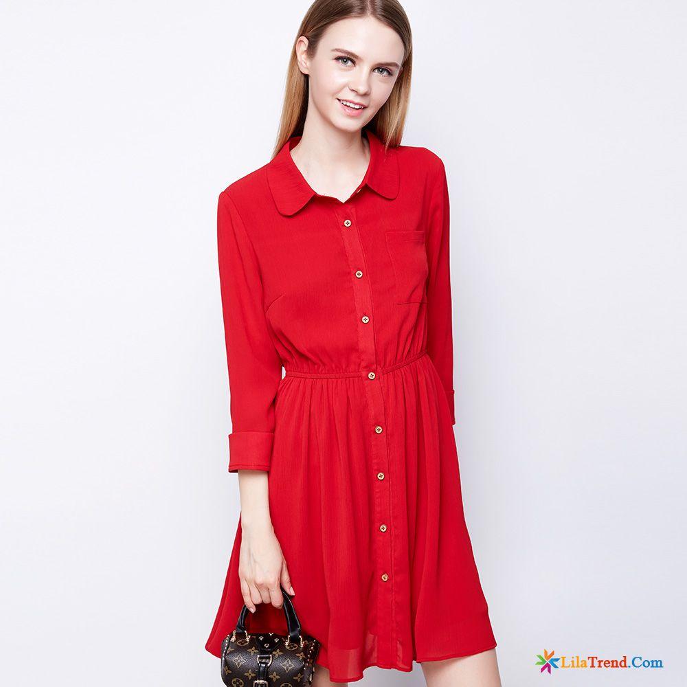 Schöne Abschlusskleider Lachsrosa Chiffon Große Größe Damen Kleider ...