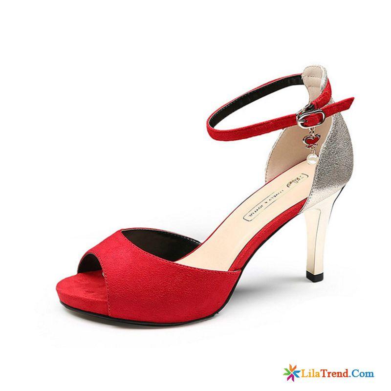 Silberne Flache Sandalen Dunne Fersen Hochzeit Schuhe Sandalen Peep