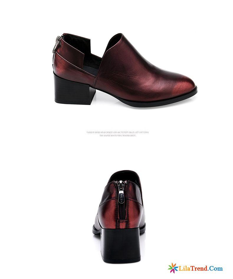 newest 24dc7 6393a Leder Schuhe Ohne Absatz Damen Durchsichtig Damen Tief ...