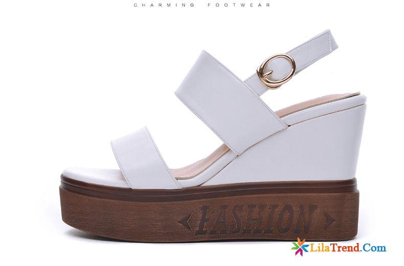 sports shoes 47315 570d3 Sandalen Mit Flacher Plateausohle Neue Sommer Allgleiches ...