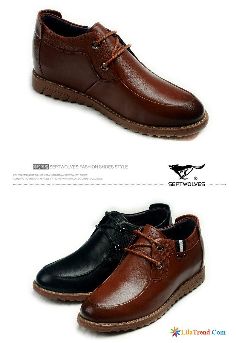 separation shoes 11cf7 1efb7 Schuhe Winter Herren Kaffeebraun Casual Echtleder Schuhe ...