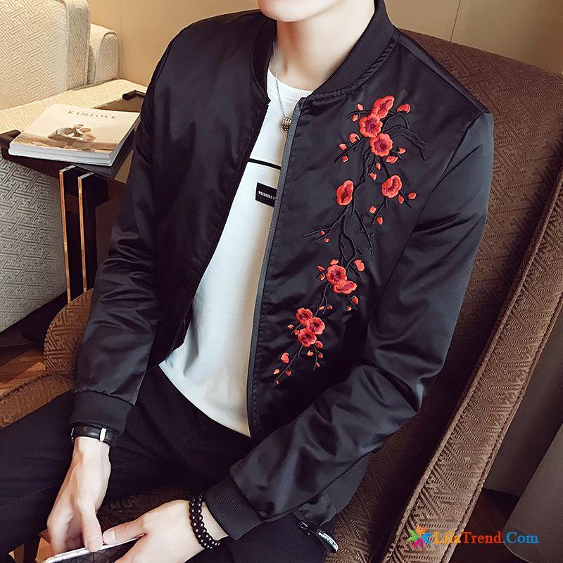 on sale 4873d fef8c Billige Jacken Herren Stickerei Chinesischer Stil Trend ...