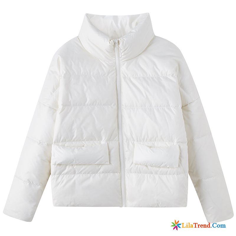 Damen Winter Daunenjacke Hell Lose Cape Mode Daunenjacke Verdickung Günstig