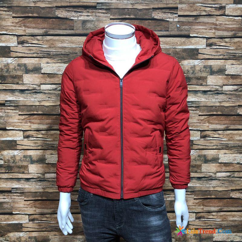 purchase cheap 06a66 ff627 Daunen Übergangsjacke Herren Weiss Schlank Herren Trend ...