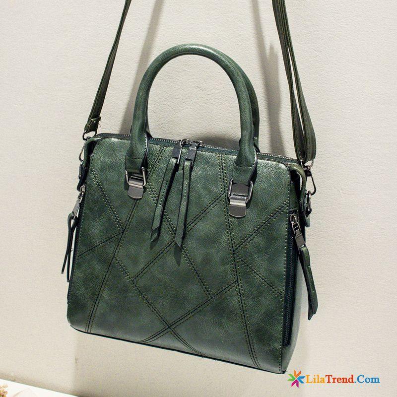 55d6f07d12f40 Echte Ledertaschen Damen Handtaschen Einfach Großes Paket Winter Das Neue  Günstig