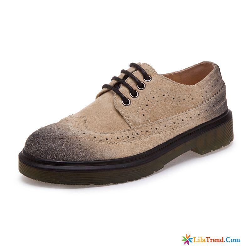 8195c15697ada8 Englische Schuhe Damen Hellrosa Damen Martin Dicke Sohle British Lovers