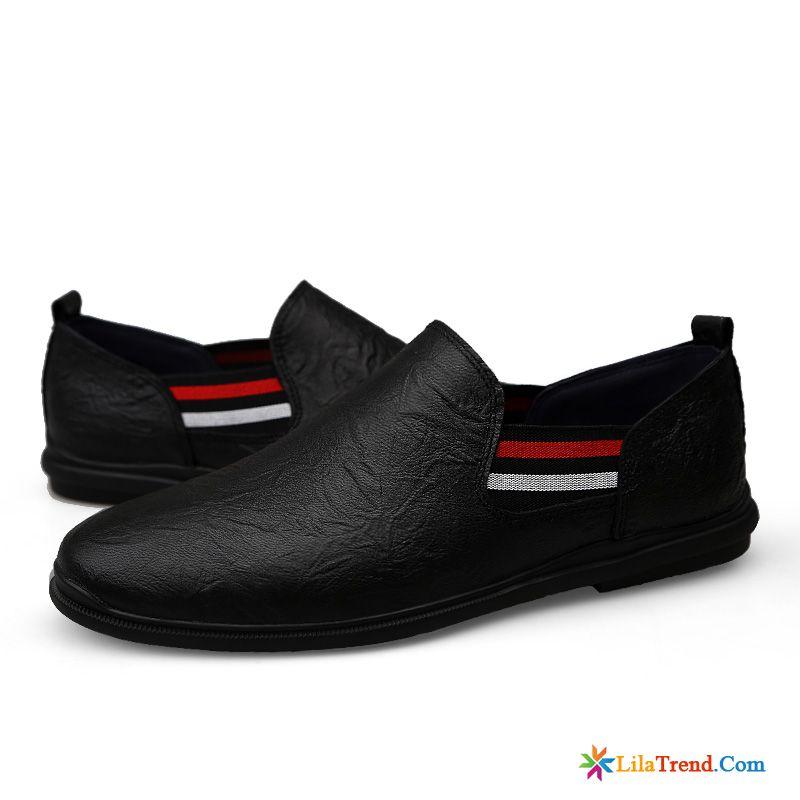 Weiße Halbschuhe Herren Bootsschuhe Schuhe Sommer Retro