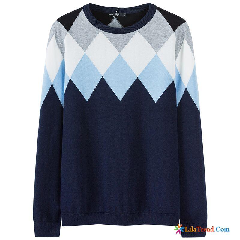 new style aaebe c84dc Herren Marken Pullover Mantel Herren Pullover Kontrastfarbe ...