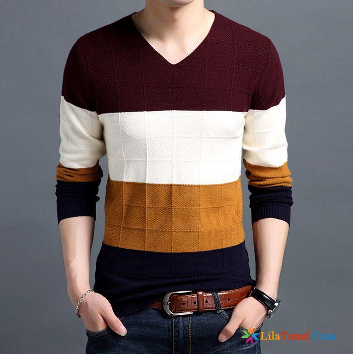 Pullover mit Hemd in Herren Pullover & Strickware günstig
