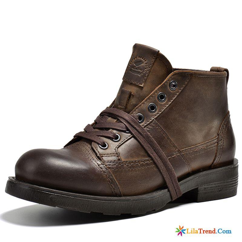 8cd33b7acd6147 Herren Winterstiefel Mit Reissverschluss Schuhe Martin Trend Herbst Winter  Günstig