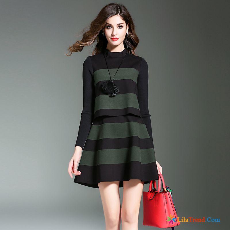 buy popular 0af7f d7a24 Kleider Kaufen Online Shop A-linie Rock Damen Strickkleid ...