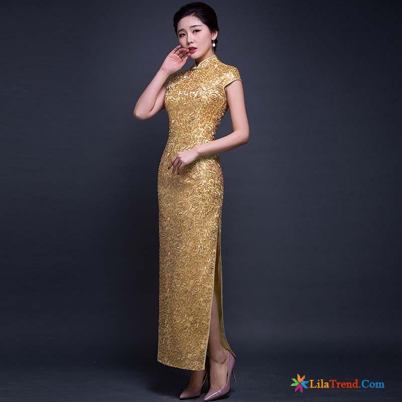 65ac4cf46ad674 Kleider Online Bestellen Durchsichtig Stufe Dünn Retro Die Gabel Teilen  Spitze Günstig