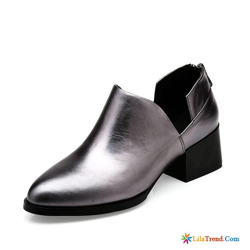fb4e120f1f183b Leder Schuhe Ohne Absatz Damen Durchsichtig Damen Tief Schnürschuhe Neue  British Billig