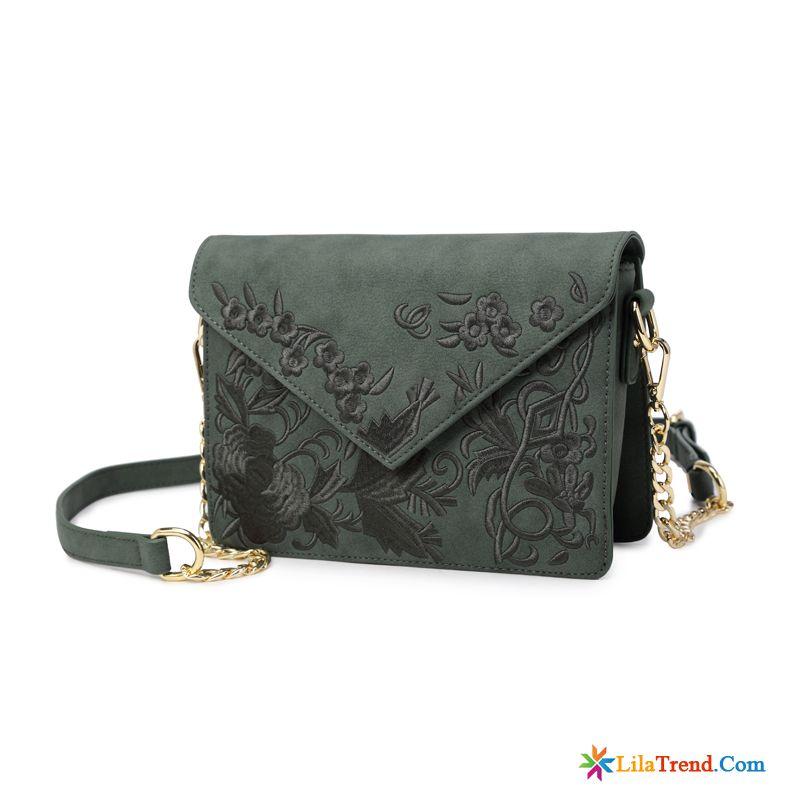0d8fbbd011de0 Marken Taschen Damen Unterarmtasche Stickerei Das Neue Retro Messenger-tasche  Kaufen