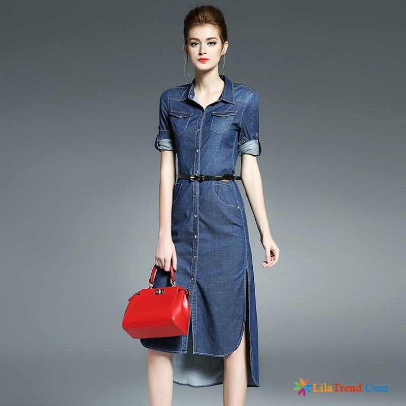 cccb647343701 Mode Kleider Mode Kupfer Middle Waisted Die Gabel Teilen Sommer Lange Damen  Verkaufen