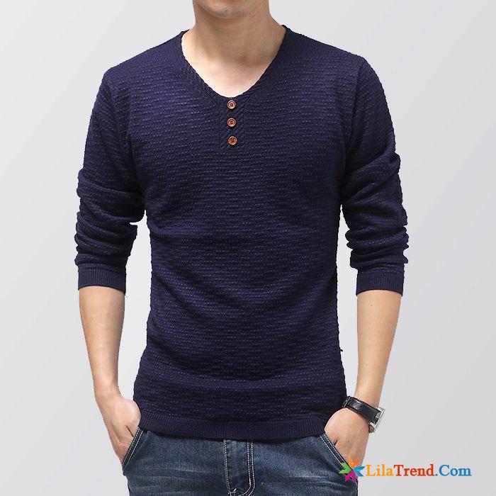 premium selection 57b5c f569b Mode Sweatshirt Herren Rosarot Pullover Strickwaren V-kragen ...