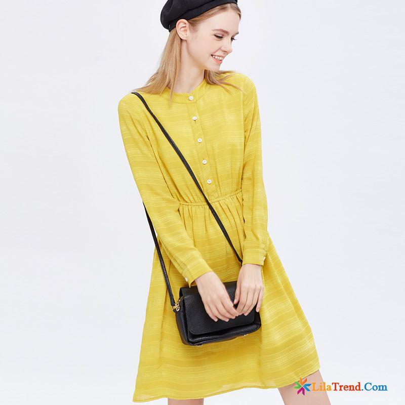online store 064ce 4ca74 Modesommerkleider Knielang Farbenreich Streifen Damen Frisch ...