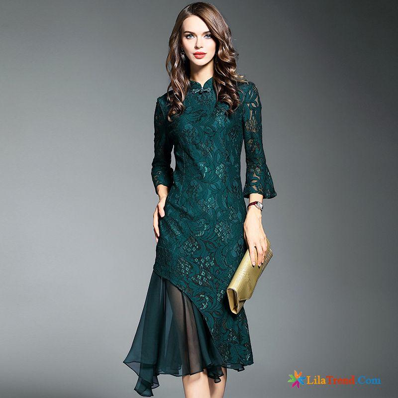 306e3734c93905 Online Kleidung Bestellen Feder Neu Lange Kleider Dünn Günstig
