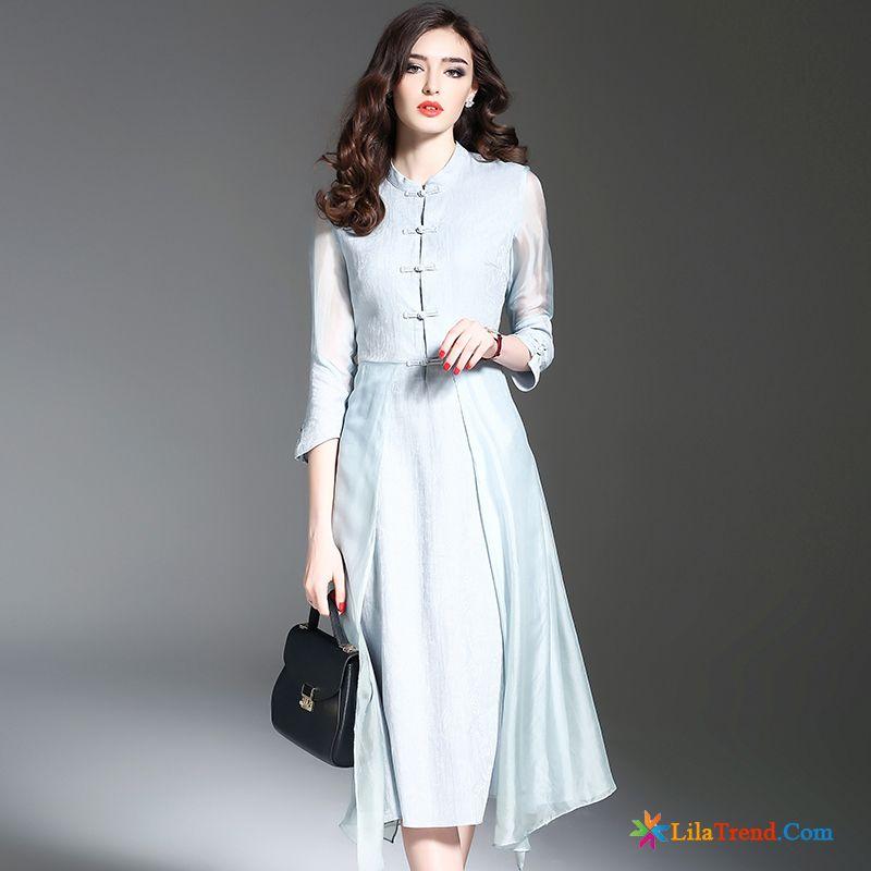 9046b03a26099b Online Kleidung Bestellen Rosarot Feder Chinesischer Stil A Schreiben Seide  Damen Billig