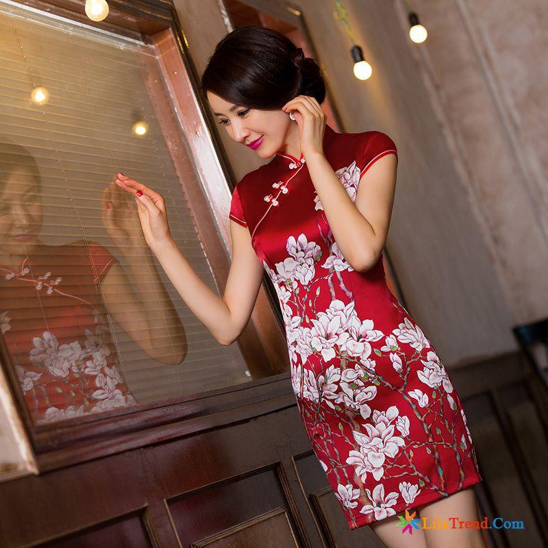 Kleid Spitze Kleider Neu Rote Mode Damen Billig
