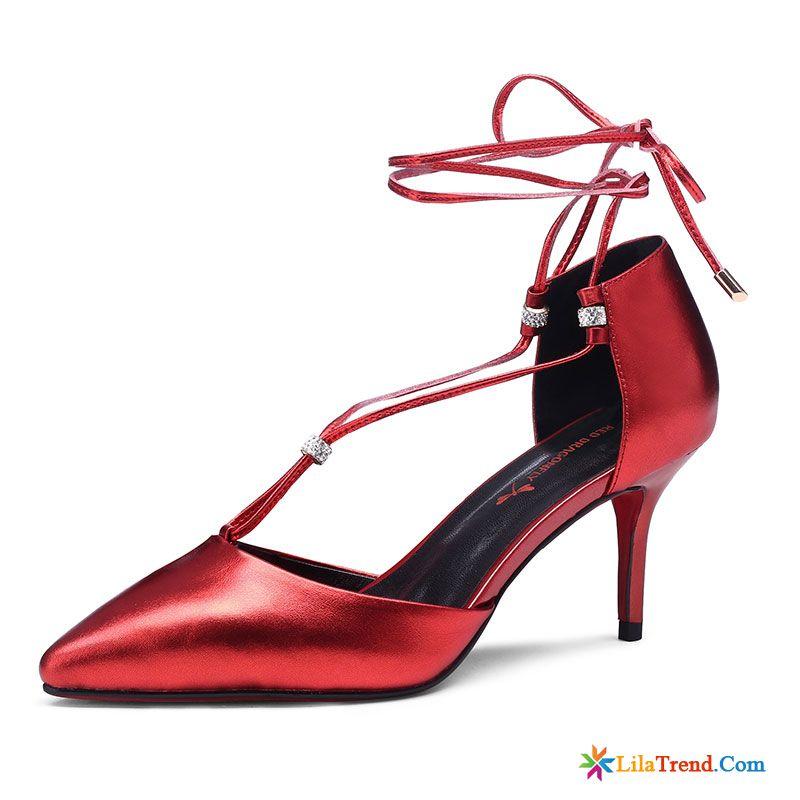 Schuhe Mit 5cm Absatz Lindgrun Schon Schnurschuhe Rot Schuhe Pumps