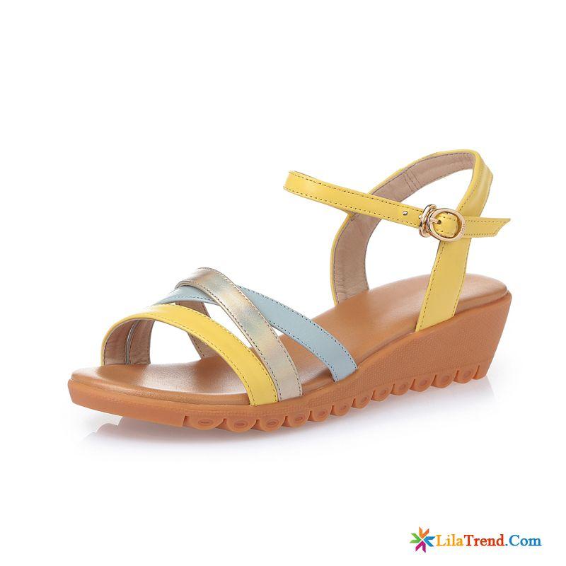d42ac261070e21 Wassersandalen Damen Orange Schuhe Prinzessin Sandalen Damen Flache Kaufen