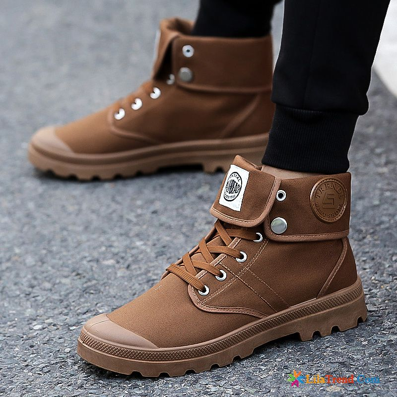 new styles 0450f 2618d Winterschuhe Herren Sneaker Dunkel Herbst Winter Martin ...