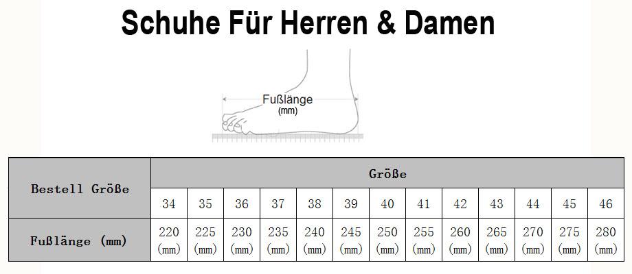 Lilatrend Herren Schuhe Größe